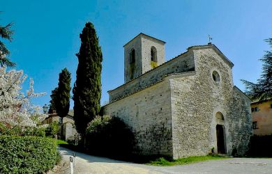 Parish church (Pieve) of San Giusto in Salcio